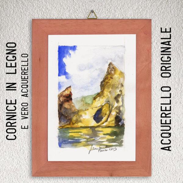 cornice-arancio-acquerello-arcooro