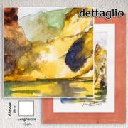 cornice-arancio-acquerello-arcooro-dettaglio