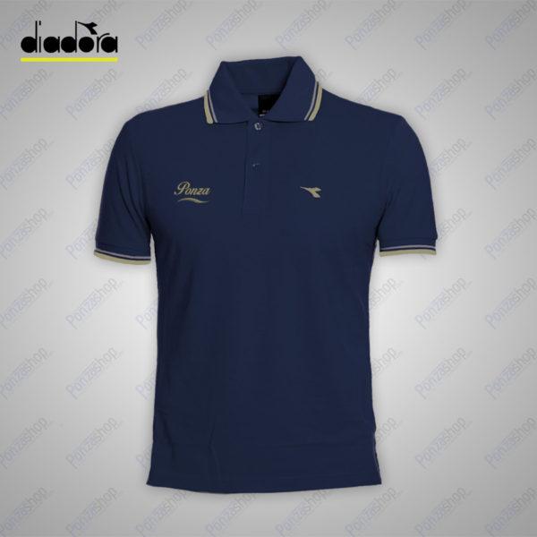 polo-uomo-ponza-maniche-corte-diadora-blu-onde-front